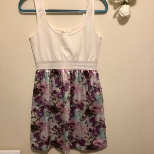 Floral dress from Charlotte Russe